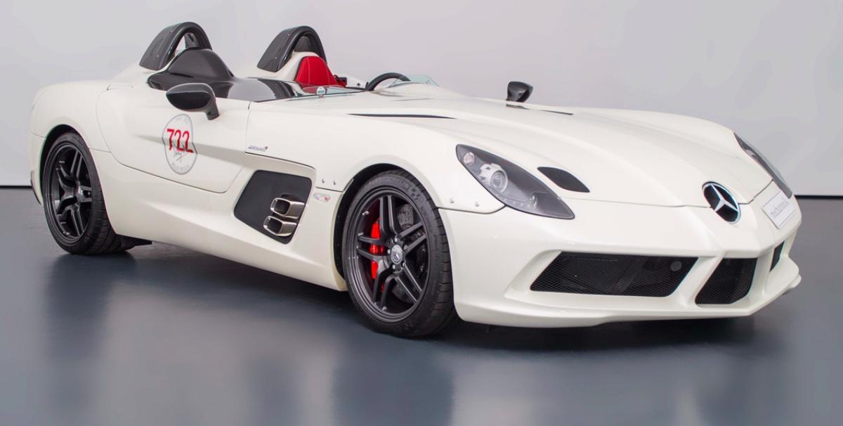 Super Rare Mercedes Benz Slr Stirling Moss Edition On Sale