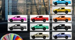 Pink workhorse – Dealership offers 100+ color wraps for the X-Class pick-up truck