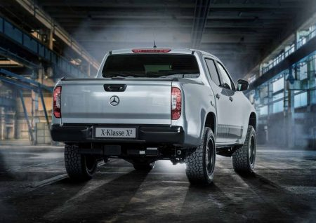 Mercedes-Benz X-Class pick-up truck (3)
