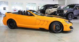 Mercedes-Benz SLR 722S Roadster McLaren Edition on sale for a fabulous price