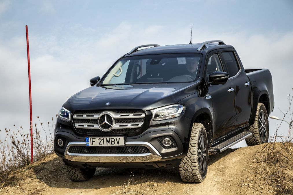 Test drive Mercedes-Benz X 350 d – The real Mercedes
