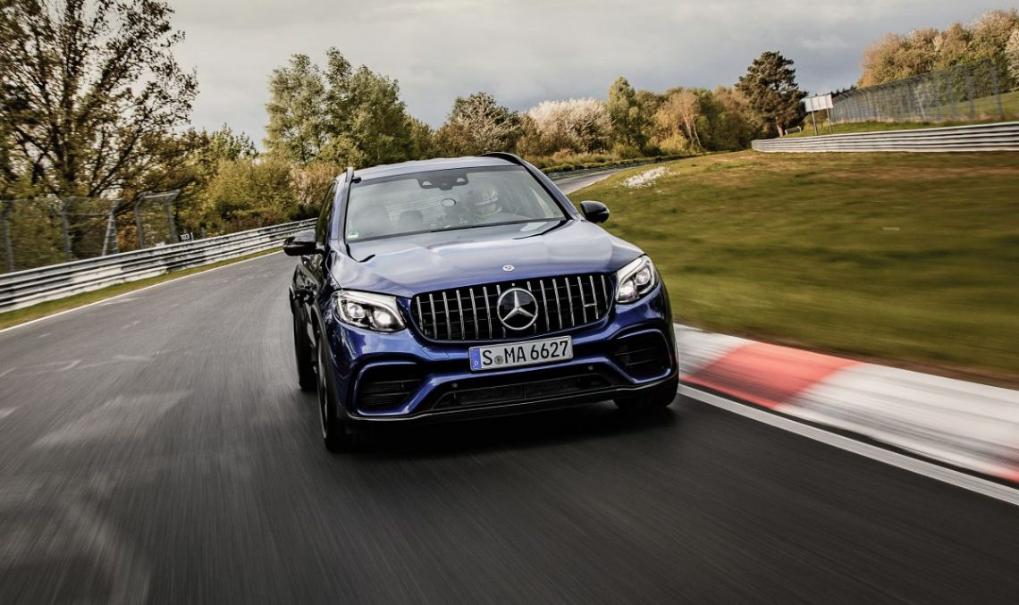 Mercedes-AMG GLC 63 S is the fastest SUV on the Nurburgring (video)