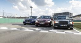 Three six-cylinder AMG flavors: Mercedes 190 E 3.2 AMG vs. C 32 AMG and C 43 AMG