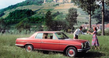 """50 years of the Mercedes / 8 """"Stroke Eight"""" Coupe (W114 / W115)"""