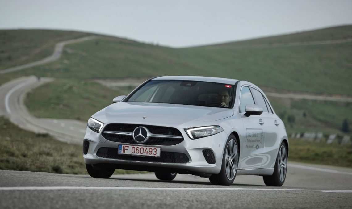 Test Mercedes A 200 – High-tech and upscale baby Benz is finally best in class