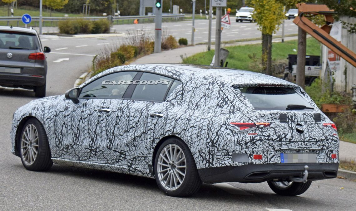 Mercedes-Benz CLA Shooting Brake makes a come back in spectacular form