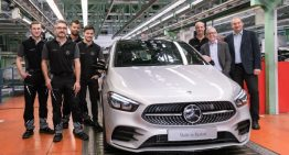 The new B-Class enters series production in Rastatt, Germany