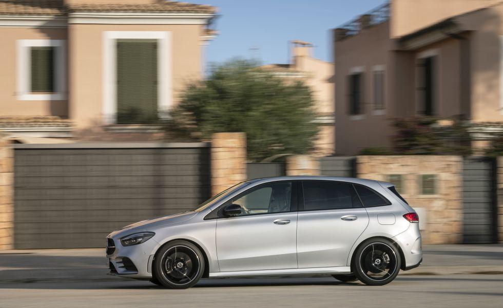 test drive Mercedes B-Class 2019