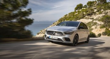Prices for the 2019 Mercedes B-Class announced: Start from 31.874 euro