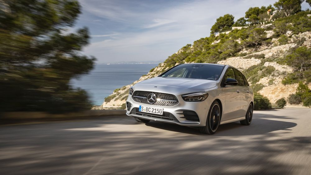 First test drive Mercedes B-Class: first impressions on the B 200 d
