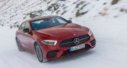 4MATIC – How to deal with a Mercedes-Benz in the snow
