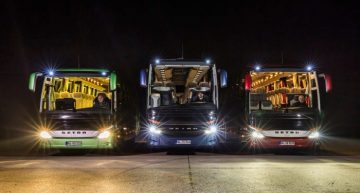 Ever safer – Daimler Buses increase active safety with new light tech
