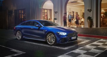 Life is a race with the new Mercedes-AMG GT 4-Door Coupé