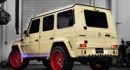 Mercedes-Benz G550 tuned by Brabus is army-ready
