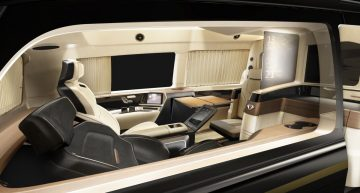 Ultimate airport shuttle: Ultra-luxury Mercedes-Benz V-Class by Italdesign and Xingchi