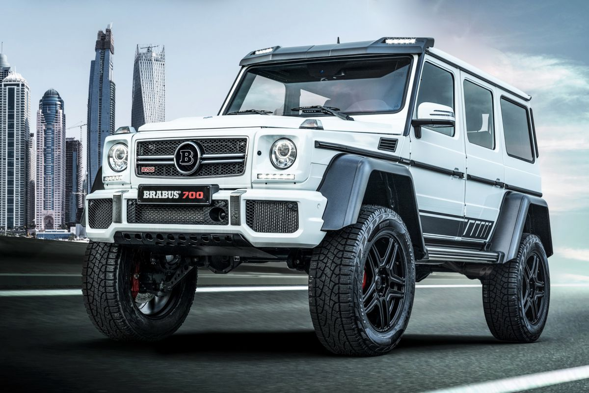 Mercedes Benz G 500 4x4 Waves Good Bye With Last Edition From Brabus Mercedesblog