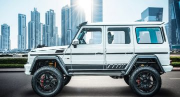 Mercedes-Benz G 500 4X4² waves good bye with last edition from Brabus
