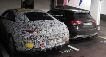 Next Mercedes-AMG CLA caught in France, sporting seductive styling