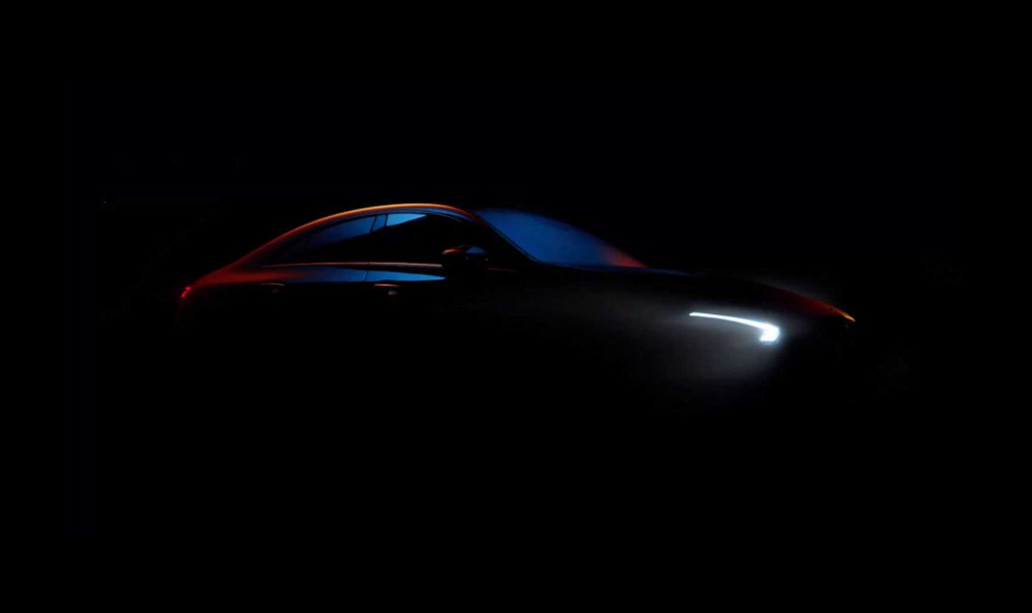 Future Mercedes-Benz CLA shows up in video teaser ahead of its CES reveal