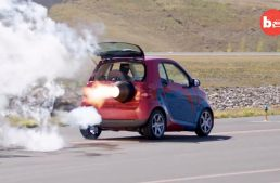 World's fastest smart fortwo is a rocket on wheels