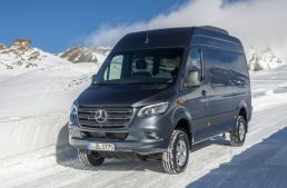Snow and rain proof: Mercedes-Benz Sprinter gets 4×4 version