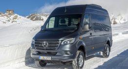 Snow and rain proof: Mercedes-Benz Sprinter gets 4×4 version