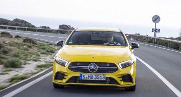 Mercedes-AMG A 35 Sedan – First teaser