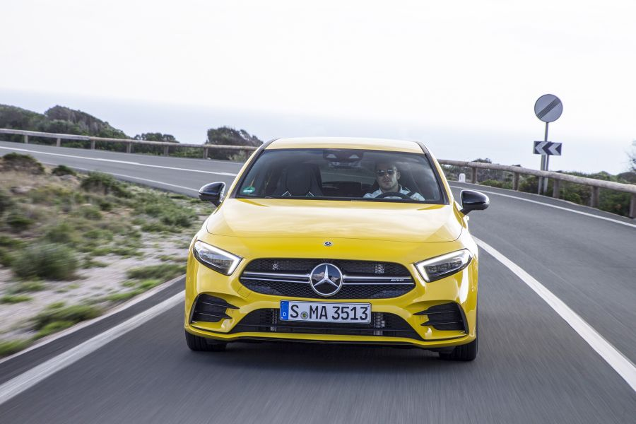 Mercedes-AMG A 35 Sedan – First teaser