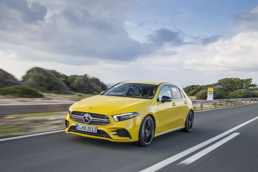 Test drive Mercedes-AMG A 35 4MATIC – Less is more