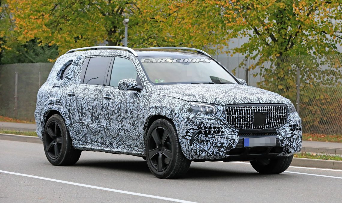2020 Mercedes GLS: Full size luxury SUV shows up in Maybach clothes