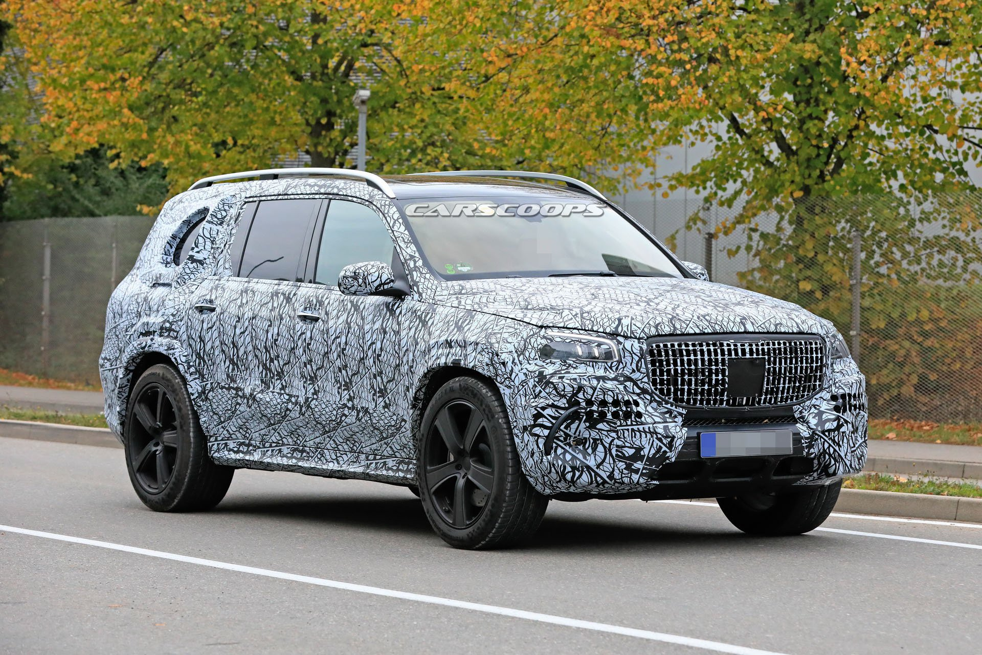 2021 Mercedes-AMG GLS 63 New Spy Photos Available >> 2020 Mercedes Gls Full Size Luxury Suv Shows Up In Maybach