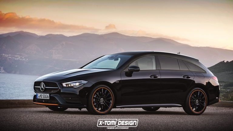 Render: So how will the future Mercedes-Benz CLA Shooting Brake look like?