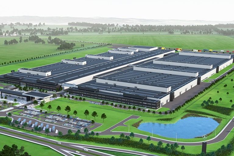Mercedes-Benz is opening new battery plant in former communist country