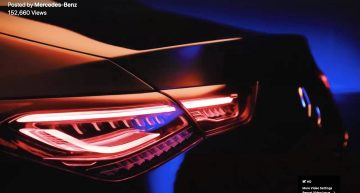 The future Mercedes-Benz CLA shows a bit more in new teaser