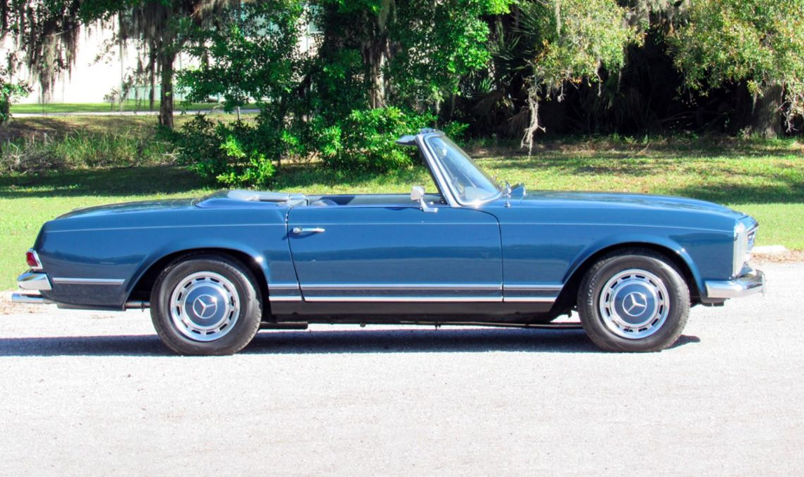 John Lennon's Mercedes-Benz 230SL heads to auction