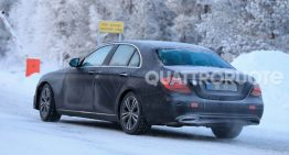 New Mercedes-Benz E-Class inching closer to debut