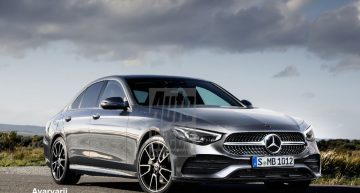2020 Mercedes-Benz C-Class rendered. How close is it?