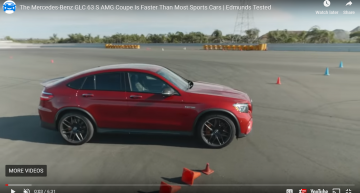 Incredible: The Mercedes-AMG GLC 63, faster than the AMG GT