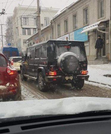 Elongated G-Class Moldavia