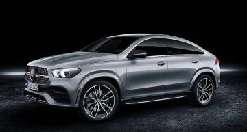 The future Mercedes GLE Coupe embraces familiar styling