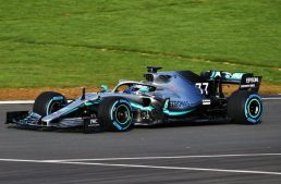The new Formula 1 car hits the track. The Mercedes-AMG F1 W10 EQ Power+ is ready