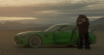 Blind mechanic drives for the first time. And it's a Mercedes-AMG GT R