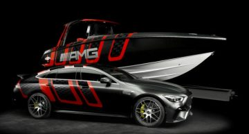 Mercedes-AMG and Cigarette Racing – Performance on water and land