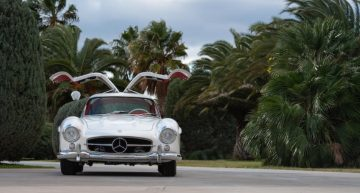 Mercedes-Benz 300 SL Gullwing and 300 SC Coupe under hammer at Bonhams