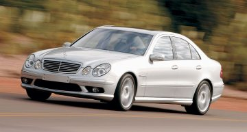 Two men arrested for stealing a Mercedes E55 they told they wanted to buy