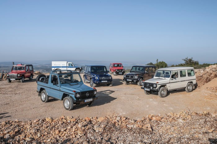 Mercedes-Benz G-Class turns 40. Happy anniversary, legend!