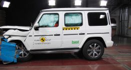 Mercedes-Benz G-Class gets 5 stars at the EuroNCAP safety tests