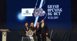 Mercedes-Benz has inaugurated production of the new 8G-DCT gearbox