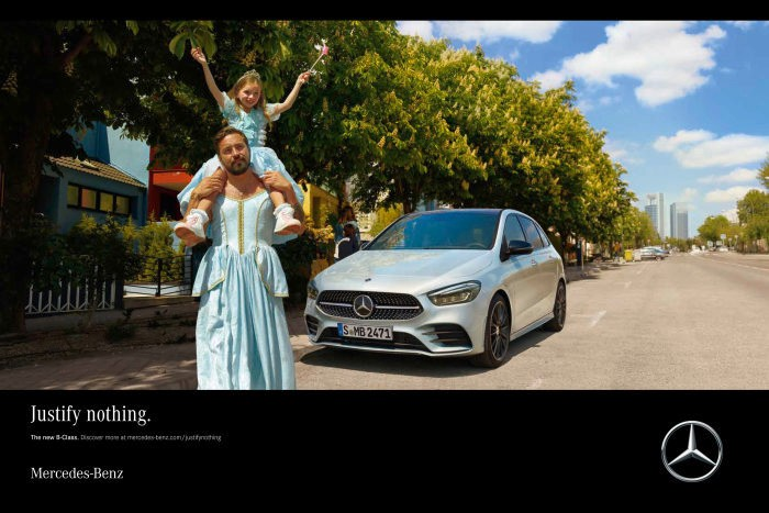 The new Mercedes-Benz B-Class campaign – Justify Nothing