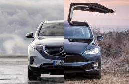 Match: The Mercedes EQC versus Tesla Model X